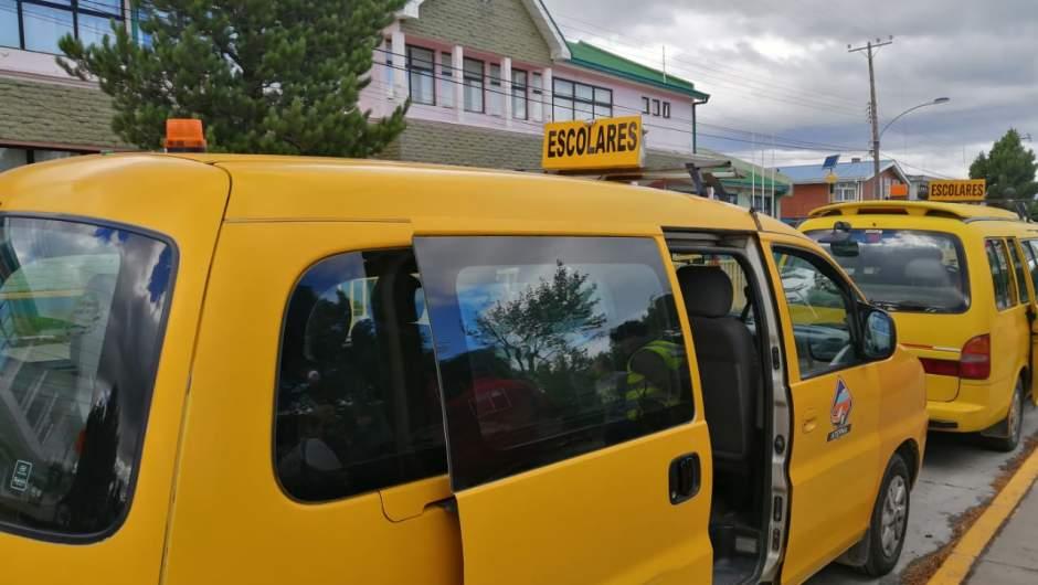 transportistas escolares